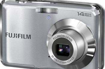 Fujifilm FinePix AV200 Manual - camera front face