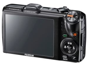 Fujifilm FinePix F550EXR Manual - camera rear side