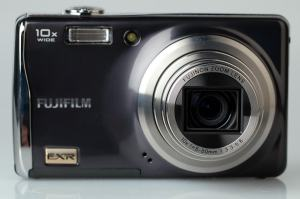 Fujifilm FinePix F70EXR Manual - camera front face