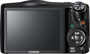Fujifilm FinePix F770EXR Manual - camera rear side