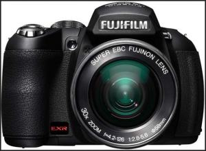 Fujifilm FinePix HS20EXR Manual-camera front face