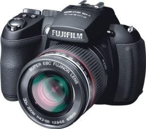 Fujifilm FinePix HS22EXR Manual - camera front side