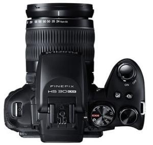 Fujifilm FinePix HS30 Manual - camera top side