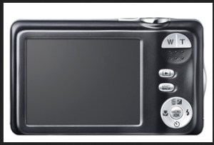 Fujifilm FinePix JX290 Manual - camera back side