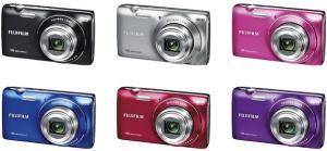 Fujifilm FinePix JZ250 Manual - camera variants