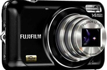 Fujifilm FinePix JZ500 Manual - camera front face