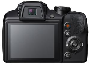 Fujifilm FinePix S8400 Manual - camera rear side