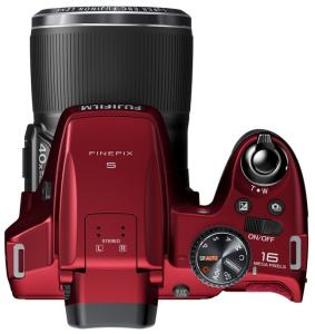 Fujifilm FinePix S8400 Manual - camera top side