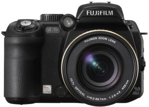 Fujifilm FinePix S9600 Manual - camera front side