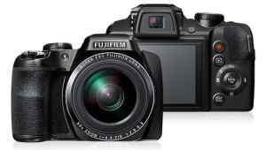 Fujifilm FinePix S9900 Manual - camera front and back side