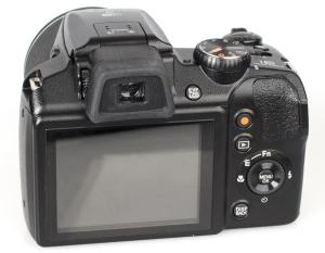 Fujifilm FinePix S9900 Manual - camera rear side