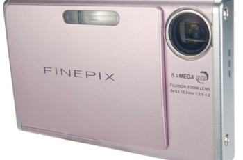 Fujifilm FinePix Z3 Manual-camera front side