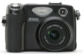 Nikon CoolPix 5400 Manual User Guide and Camera Specification