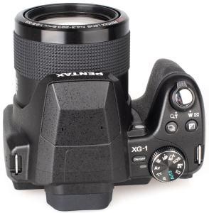 Pentax XG-1 Manual - camera top side
