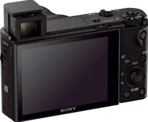 Sony DSC-RX100M3 Manual - camera back side