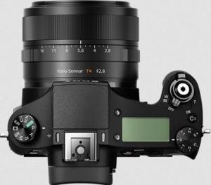 Sony DSC-RX10M2 Manual - camera top side