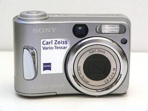 Sony DSC-S60 Manual User Guide and Product Specification