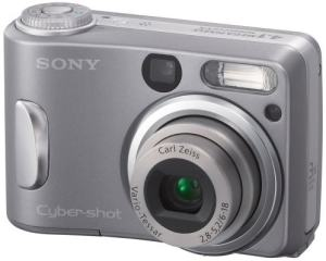Sony DSC-S60 Manual - camera front face