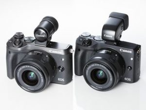 Canon EOS M6 - Camera with EVF