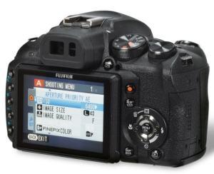 Fujifilm FinePix HS10 Manual - camera back side