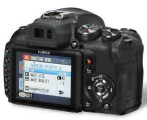Fujifilm FinePix HS11 Manual - rear side