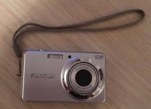 Fujifilm FinePix J27 Manual - camera front side