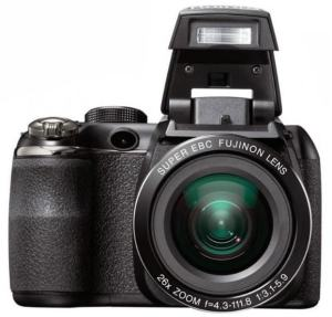 Fujifilm FinePix S4300 Manual - camera front face