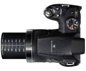 Fujifilm FinePix S4300 Manual - camera top side