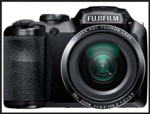Fujifilm FinePix S4800 manual - front side