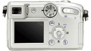 Nikon CoolPix 4800 manual - camera back side