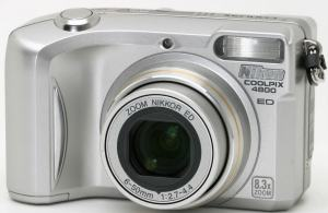 Nikon CoolPix 4800 manual for Nikon's Affordable Camera for Novice User