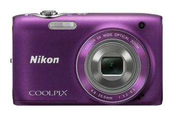 Nikon CoolPix S3100 Manual - front face