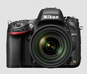 Nikon D610 Manual - camera front face