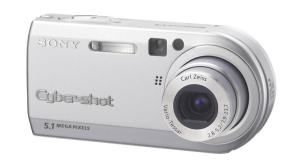 Sony DSC P-100 Manual - camera front face