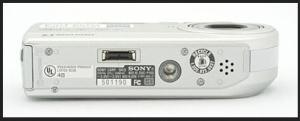 Sony DSC P-100 Manual - camera side