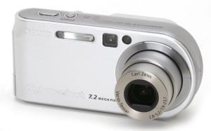 Sony DSC P-200 Manual - camera front face