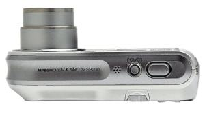 Sony DSC P-200 Manual - camera side