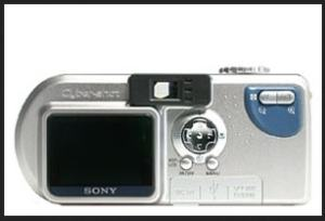 Sony DSC-P2 Manual - Camera rear side