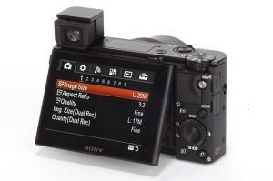 Sony DSC-RX100 IV Manual-camera back side