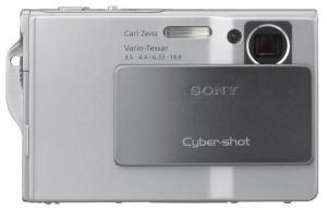 Sony DSC-T7 Manual - camera front face