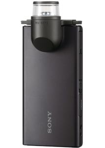 Sony MHS-FS1K camera rear side