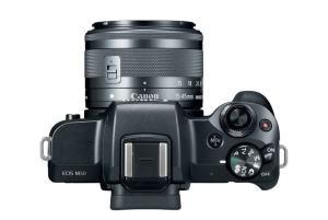 Canon EOS M50; - camera top side