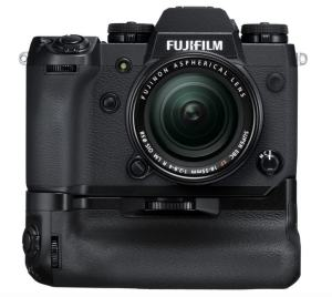 Fujifilm X-H1 Review; Camera with Battery Grip