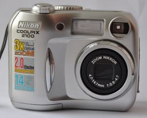 Nikon CoolPix 2100 Manual User Guide and Camera Specification
