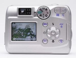 Nikon Coolpix 3200 Manual - camera rear side