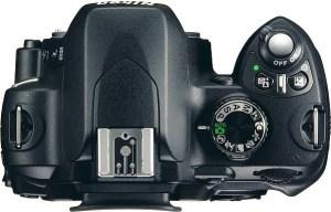 Nikon D60 Manual - camera top side