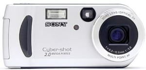 Sony DSC-P51 Manual - camera front face
