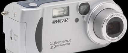 Sony DSC P71 Manual - camera front side