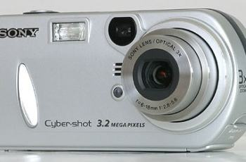 Sony DSC-P72 Manual User Guide and Product Specification