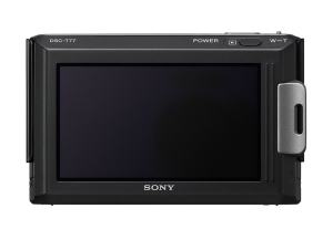 Sony DSC-T77 Manual - camera rear side